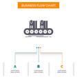 belt box conveyor factory line business flow vector image vector image