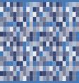 blue art pixel vector image vector image