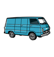 Dodge a100 vector image