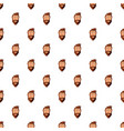 man face pattern vector image