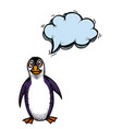 penguin-100 vector image