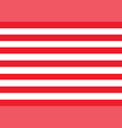 united states flag red stripes vector image vector image