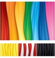 Smooth Textile Backgrounds vector image