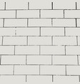brick wall background empty grunge pattern vector image vector image