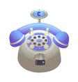 icon telphone vector image vector image