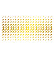 male power pill gold halftone effect vector image vector image