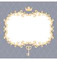 royal frame vector image