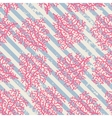 Coral seamless pattern vector image