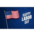labor day holiday in united states celebrated vector image