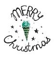 Merry Christmas Retro Lettering