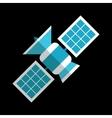 New sputnik flat icon vector image vector image