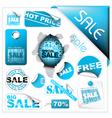 sale tickets vector image vector image