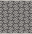 seamless abstract shapes pattern modern vector image vector image