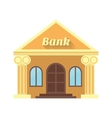 the bank and coin Icon made in flat design vector image
