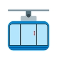 Cable Car vector image vector image