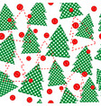 christmas template wrapping paper in patchwork vector image vector image