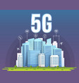 creative of 5g signal vector image