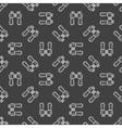 Dark binocular seamless pattern vector image vector image