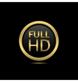 Full HD vector image vector image