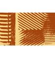 grunge retro stripes background vector image