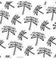 grunge tropical palm nature tree background vector image vector image
