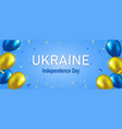 happy independence day ukraine vector image vector image