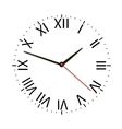 Old vintage clock vector image