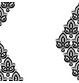 ornamental floral element pattern background for vector image