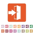 The login icon Entry and input authorization vector image
