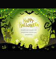 a seamless happy halloween vector image vector image