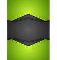 Abstract corporate tech background vector image vector image