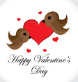 Birds Valentines Day vector image vector image