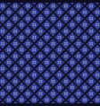batik blue tones texture and background good vector image vector image