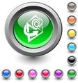 E-mail round button vector | Price: 1 Credit (USD $1)