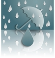 Its raining vector image