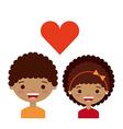love couple design vector image vector image