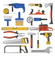 Work Tools Icon Set vector image