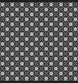 batik black and white texture and background good vector image vector image