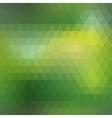 Green mosaic seamless vector image vector image
