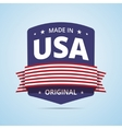 Made in USA badge vector image vector image