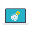 Testing software concept vector image vector image