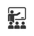 classroom icon images vector image vector image