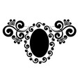 floral ornament vector image