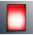 red and white gradient texture background design vector image