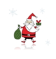 Santa Claus sketch for your design vector image vector image