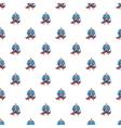 Superhero pattern cartoon style vector image vector image