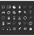 Universal Flat Icons vector image vector image