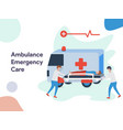 Ambulance emergency care