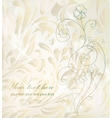 Beautiful card for invitation vector image vector image
