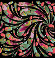 Floral paisley seamless pattern colorful